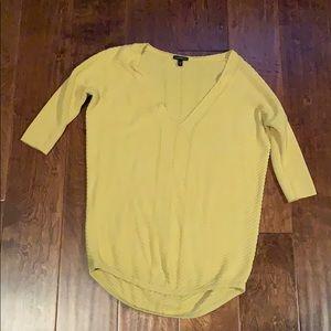 Express Yellow Sweater